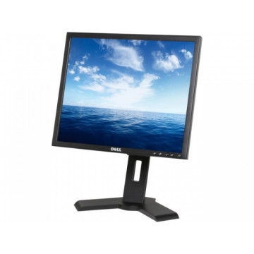 Monitor DELL P190ST, LCD, 1280 x 1024 dpi, VGA, DVI Monitoare Second Hand