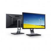 Monitor DELL U2410F, Panel IPS, 24 inch, 1920 x 1200, VGA, DVI, HDMI, Widescreen, Grad A-, Fara Picior Monitoare cu Pret Redus