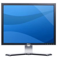 Monitor Dell UltraSharp 2007FP, 20 Inch LCD, 1600 x 1200, VGA, DVI, S-Video, USB, Grad A-