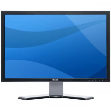 Monitor Dell UltraSharp 2407WFP 24 Inch, LCD, 1920 x 1200, 6 ms timp de raspuns, 16:10, Fara Picior, Second Hand Monitoare & TV