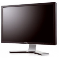 Monitor DELL UltraSharp 2408WFP, LCD, 24 inch, 1920 x 1200, VGA, 2 x DVI, 4 x USB, HDMI, Display Port, WIDESCREEN, Fara Picior, Grad B