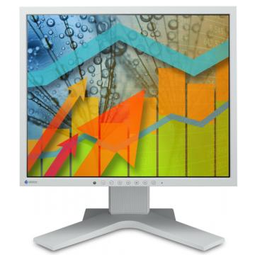 Monitor Eizo FlexScan S1701 LCD, 17 Inch, 1280 x 1024, VGA, DVI Monitoare Second Hand