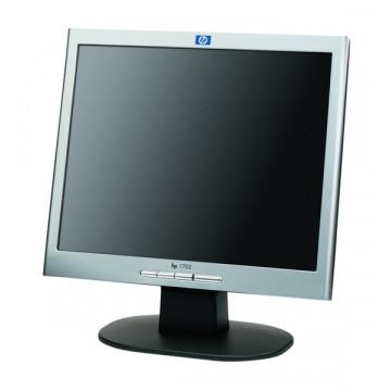 Monitor HP 1702, 17 inci LCD/TFT, 16 milioane culori, Fara picior, Pete pe display Monitoare Second Hand