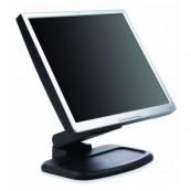 Monitor HP 1740 LCD, 17 Inch, 1280 x 1024, VGA, DVI, USB, Grad B, Fara picior, Second Hand Monitoare cu Pret Redus