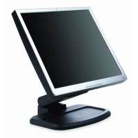 Monitor HP 1740 LCD, 17 Inch, 1280 x 1024, VGA, DVI, USB, Grad B, Fara picior