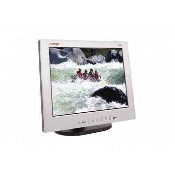 Monitor Hp 2025, 20 inch, 1600 x 1200, 25ms, VGA, DVI, 16,7 milioane culori Monitoare Second Hand