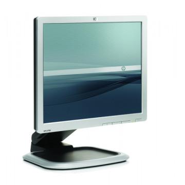 Monitor HP L1750, 17 Inch LCD, 1280 x 1024, VGA, DVI Monitoare Second Hand