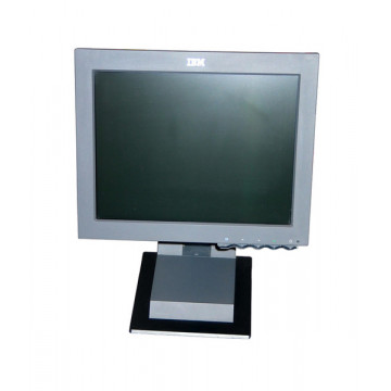 Monitor IBM 6656-HG2, 15 inci LCD, 1024 x 768, Pete fine Monitoare Second Hand