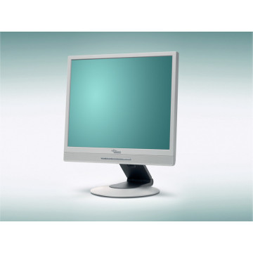 Monitor ieftin Fujitsu Siemens P17-2, 17 inci LCD, Fara picior, Pete fine Monitoare Second Hand