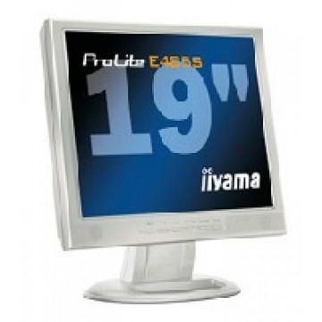 Monitor IIYAMA ProLite E485S, LCD, 19 inch, 1280 x 1024, VGA, DVI, Fara Picior, Grab B Monitoare cu Pret Redus