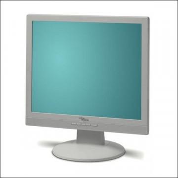 Monitor LCD Fujitsu A19-2A, 19 inci, VGA, DVI, Boxe Integrate Monitoare Second Hand