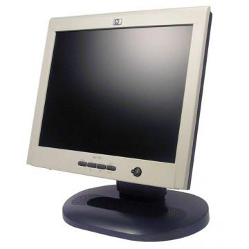Monitor LCD Grad B HP L1520, 15 inci, 1024 x 768, DVI, VGA, pete si zgarieturi Monitoare Second Hand