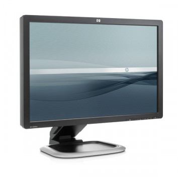 Monitor LCD HP L2445w, 24 Inch, 1920 x 1200, VGA, DVI Monitoare Second Hand