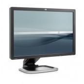 Monitor LCD HP L2445w, 24 Inch, 1920 x 1200, VGA, DVI, Grad A-, Second Hand Monitoare Second Hand