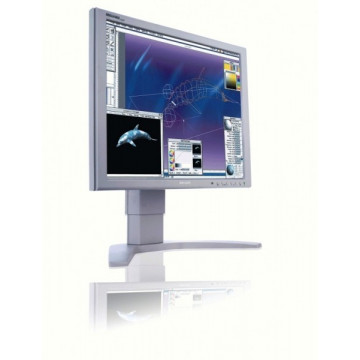 Monitor LCD Philips Brilliance 190P7, 19 inch, 8 ms, VGA, DVI, USB Monitoare Second Hand
