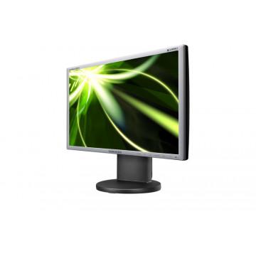 Monitor LCD Samsung 2243, 22 inci widescreen, 1680 x 1050, Fara Picior, Pete pe display Monitoare Second Hand