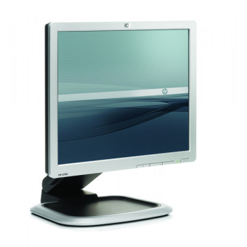 Monitor LCD SH, HP L1750, 17 inci LCD, 1280 x 1024 dpi, pete si zgarieturi pe display Monitoare Second Hand