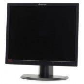 Monitor Lenovo ThinkVision L1900PA, LCD, 19 inch, 1280 x 1024, 5ms, VGA, DVI, Fara picior, Grad B, Second Hand Monitoare cu Pret Redus