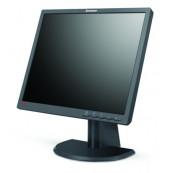 Monitor Lenovo ThinkVision L193P, LCD, 19 inch, 1280 x 1024, 20ms, VGA, DVI, Grad B, Second Hand Monitoare cu Pret Redus