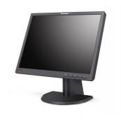 Monitor Lenovo ThinkVision L201p, 20 Inch LCD, 1600 x 1200, VGA, DVI, Grad B, Second Hand Monitoare cu Pret Redus