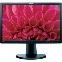 Monitor LENOVO ThinkVision LT2452P, LCD Panel IPS 24 inch, 1920 x 1200, VGA, DVI, DisplayPort, WIDESCREEN, Grad B