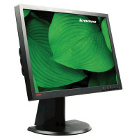 Monitor LENOVO ThinkVison L2440PWC, 24 Inch LCD, 1920 x 1200, VGA, DVI, USB, Grad B
