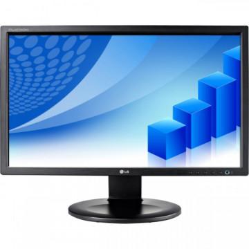 Monitor LG E2210P, LCD 22 inch, 1680 x 1050, VGA, DVI, Grad B, WIDESCREEN, Full HD, Fara Picior Monitoare cu Pret Redus