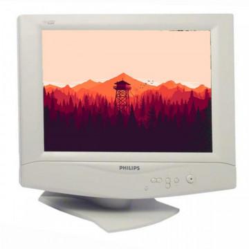 Monitor PHILIPS 150S3, LCD, 15 inch, 1024 x 768, VGA, Grad A- Monitoare cu Pret Redus