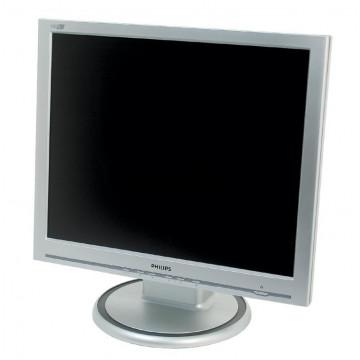 Monitor PHILIPS 190S, LCD, 19 inch, 1280 x 1024, VGA, DVI Monitoare Second Hand