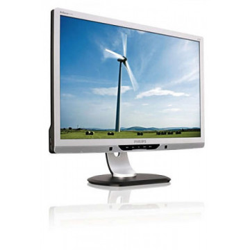 Monitor PHILIPS 225PL ES 22 inch, TFT LCD, 5ms, 1680x1050, VGA, DVI, USB, Second Hand Monitoare Second Hand