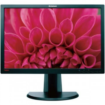 Monitor Refurbished LENOVO ThinkVision LT2452P, Panel IPS, 24 inch, 1920 x 1200, VGA, DVI, DisplayPort, Widescreen