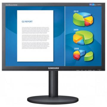 Monitor SAMSUNG B2440, LCD 24 inch, 1920 x 1080, VGA, DVI, HDMI Full HD, Grad A- Monitoare cu Pret Redus