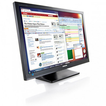 Monitor Samsung SyncMaster S22A450BW, 22 inch, 1680 x 1050, 5 ms, VGA, DVI, Contrast Dinamic 5000000:1 Monitoare Second Hand