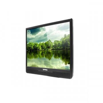 Monitor Second Hand Inves TJ777, Boxe incorporate, 17 inch LCD, VGA, Permite montare pe perete, Fara picior Monitoare Second Hand