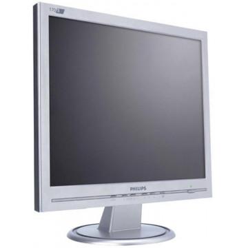 Monitor SH Philips 170S, LCD, 17 inch Monitoare Second Hand