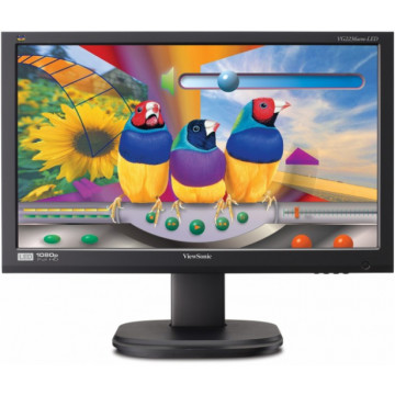 Monitor VIEWSONIC VG2236WM, LED, 22 inch, 1920 x 1080, VGA, DVI, Fara Picior, Grad A-