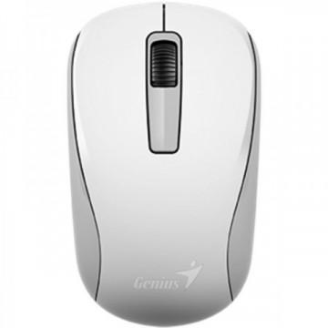 Mouse Optic Genius NX-7005, Wireless, USB, Alb  Periferice