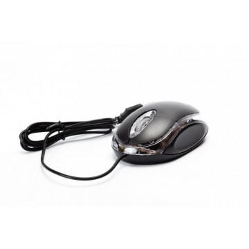 Mouse Optic Spacer SPMO-080, 800 DPI, USB, Negru Periferice