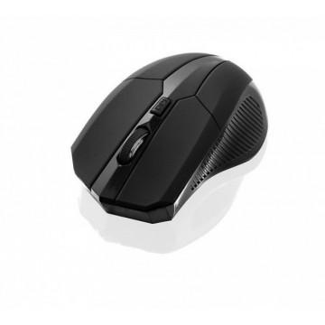 Mouse Wireless iBOX i005 pro IMLAF005W, nano USB, 1600 DPI, Negru Periferice