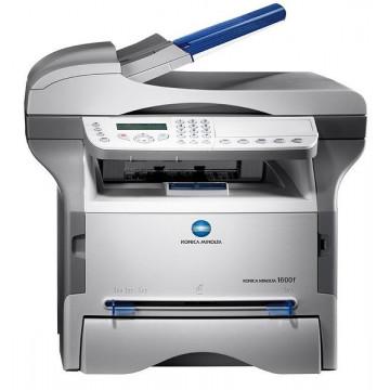 Mulifunctionala laser A4 Konica Minolta 1600f, monocrom, Fax, Scanner color, Copiator, 16 ppm Imprimante Second Hand