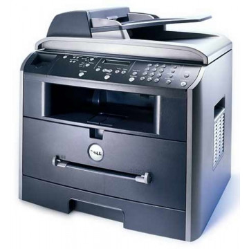 Multifunctional Dell 1600n, Laser Monocrom, Fax, Scanner, Copiator, 20 A4 ppm Imprimante Second Hand