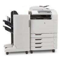 Multifunctional Laser Color A3, HP CM6040 MFP, Copiator, Scanner, Fax, ADF, Retea, fara cartuse