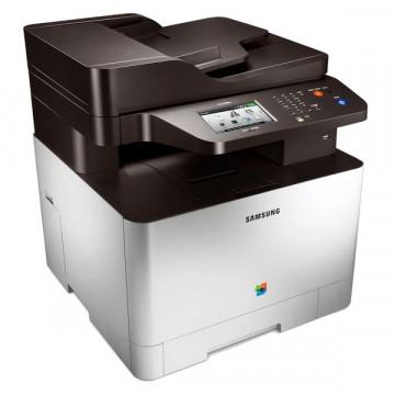 Multifunctional Laser Color Samsung CLX-3305FW, Copiator, Scaner, FAX, 18 ppm, USB, Retea, Wi-Fi Imprimante Noi