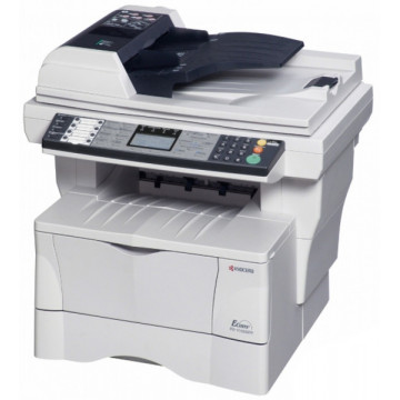 Multifunctional Laser Kyocera FS-1018 MFP, Copiator, Scanner Color, Retea, USB, ADF, FAX Imprimante Second Hand