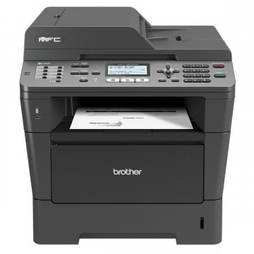 Multifunctionala BROTHER MFC 8520DN, A4, Duplex, Scanner, Copiator, Printer si Fax, Retea si USB, 36 ppm + Cartus si Unitate Drum NOI Imprimante Second Hand