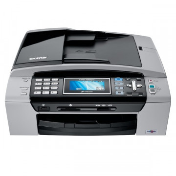 Multifunctionala Color Brother MFC-490CW, Scanner, Copiator, Retea, Fax, Cartuse Cerneala Noi  Imprimante Second Hand