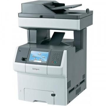 Multifunctionala COLOR Lexmark X736de, A4, Imprimanta, Scanner, Copiator, Fax Imprimante Second Hand