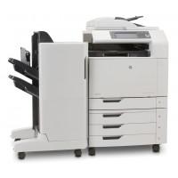 Multifunctionala laser color HP CM6040 MFP, Copiator, Scanner, Fax, ADF, Retea, A3, Duplex, Sorter
