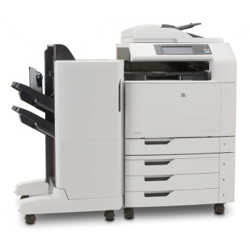 Multifunctionala laser color HP CM6040 MFP, Copiator, Scanner, Fax, ADF, Retea, A3, Duplex, Sorter Imprimante Second Hand