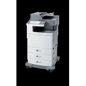Multifunctionala Laser Color Lexmark X792DE, A4, 50 ppm, 1200 x 1200 dpi, Retea, USB, Fax, Copiator, Scanner Imprimante Second Hand